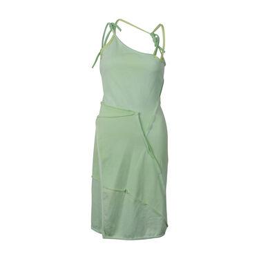 Ottolinger Asymmetric Strap Dress- Lime