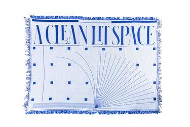 A Clean Lit Space x Eric Hu Blanket