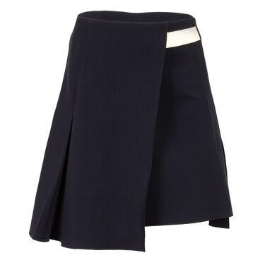 Reed Krakoff Wool Blend Wrap Skirt