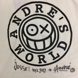 Signed Mr. Andre Shirt