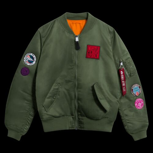 Alpha Industries x André Insulated Bomber Jacket