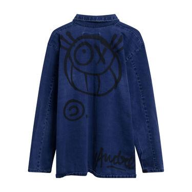 Sami Miro Vintage x André Saraiva Exclusive Denim Overshirt - Custom One of One