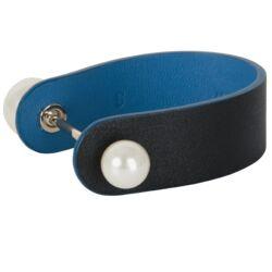 Dior Gold Perle Leather Bracelet