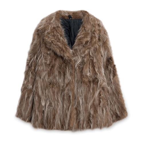 Fur Coat - Brown