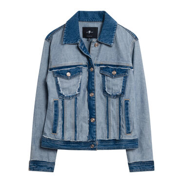 7 For All Mankind Classic Inside Out Jacket