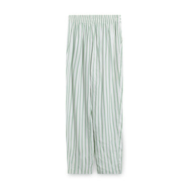 Vintage Acapella Green Pinstripe Pants