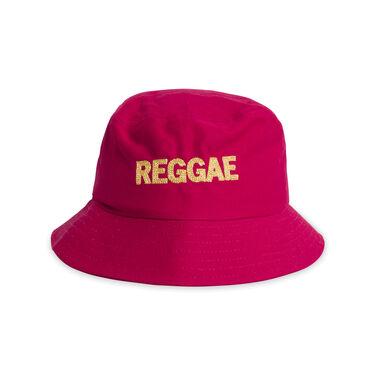 "Painter Bucket Hat ""Reggae"" - Red"