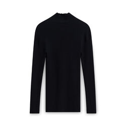 Miu Miu Turtleneck Sweater - Black