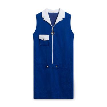 Vintage Blue Tennis Dress
