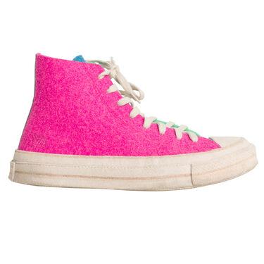 Jw Anderson Converse Edition Felt Chuck 70 - Pink/Green