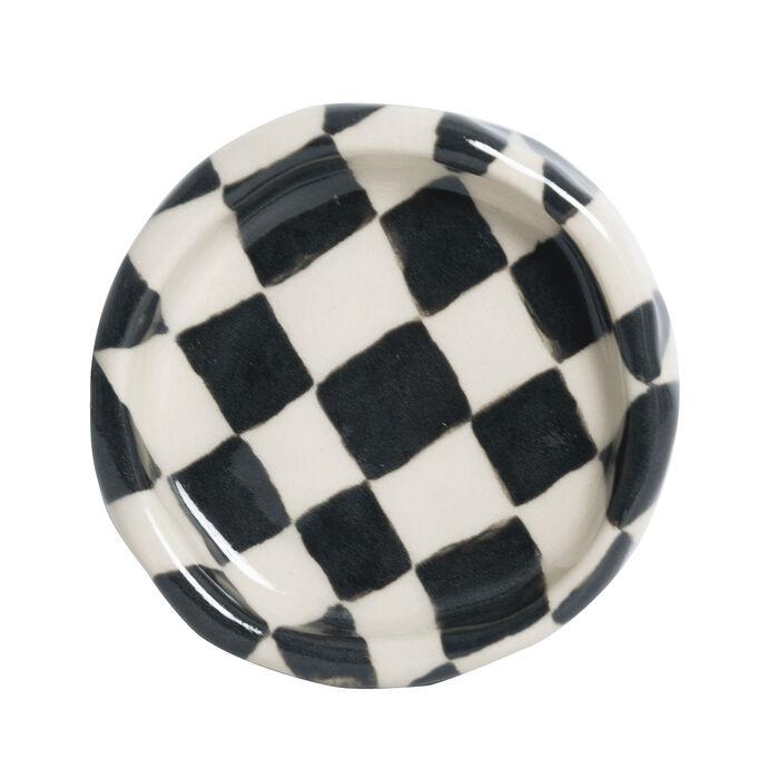 Small Checkerboard Pot