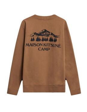 US MK Camp R-Neck Sweatshirt - Camel