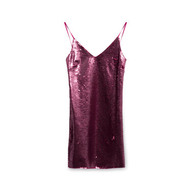 Paule Ka Sequin Dress - Pink