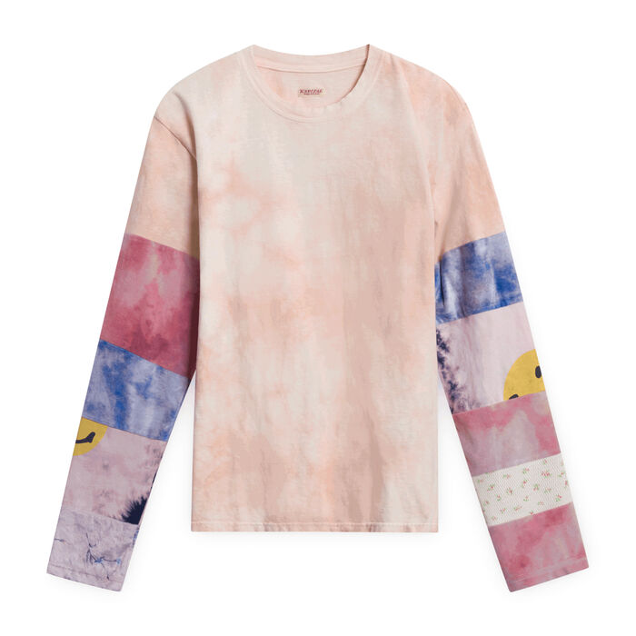 18.5 Jersey Hippie Long Sleeve T (Ashbury Dyed)