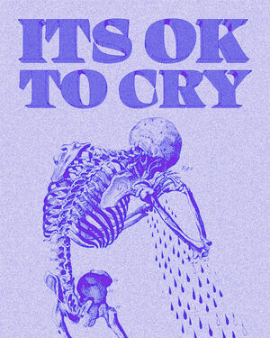 IT'S OK TO CRY- Blue