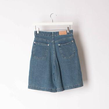 See by Chloe Wide Leg Denim Shorts
