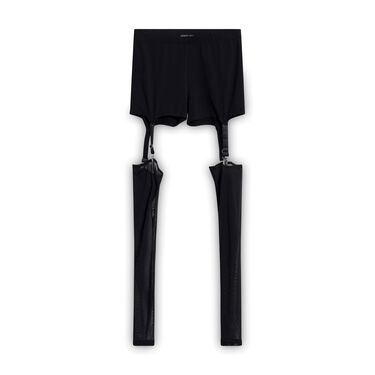 Current Mood All The Commotion Garter Leggings