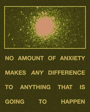 NO AMOUNT OF ANXIETY- Stars