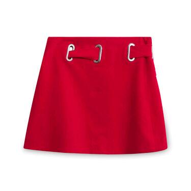 Hanger Inc Zip-Up Skirt - Red