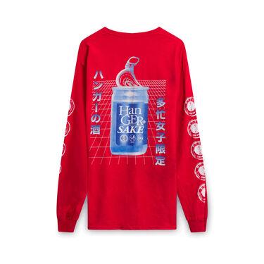 Hanger Inc Sake Long-Sleeve Shirt - Red