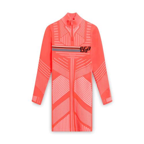 Prada Neon Orange Dress