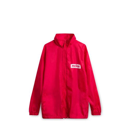 As Above So Below Mucker Rain Jacket - Red