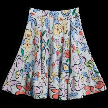 Stine Goya Flounce Hem Skirt