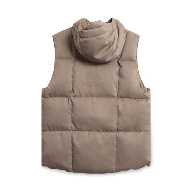 Garments Engineered Button-Down Vest - Tan