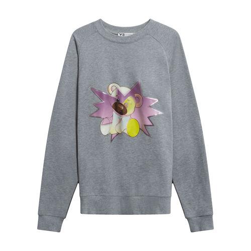 Y-3 Teddy Bear Sweater