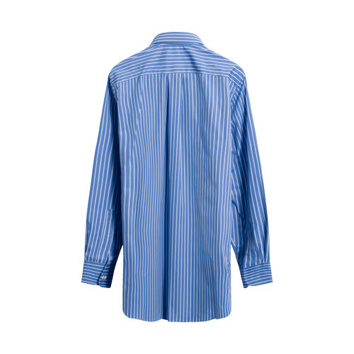 HommeGirls Striped Classic Shirt in Blue
