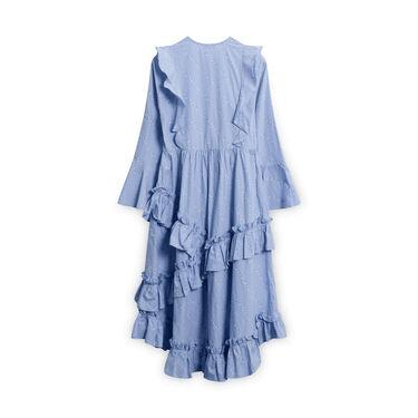Ganni Floral Ruffle Dress