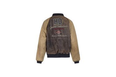 Harley Davidson Grand National Champion Leather Jacket