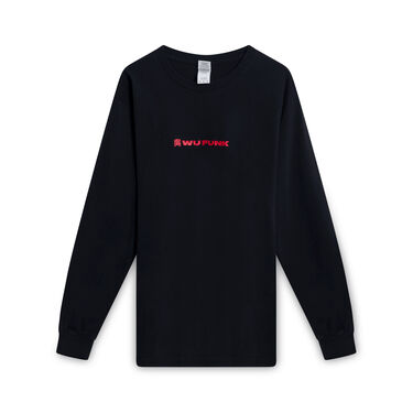 Wu Funk x Black Focus Longsleeve T-Shirt - Black