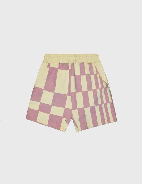 KROST x Barneys Checkered Shorts