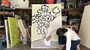 Painting with Tony