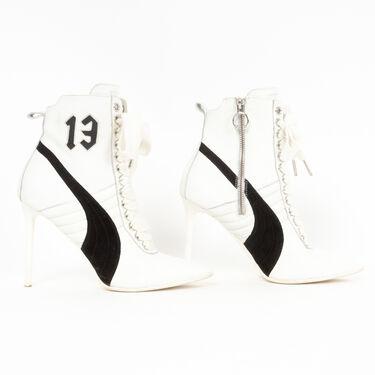 Puma x Rihanna Heeled Lace Up Sneaker Booties
