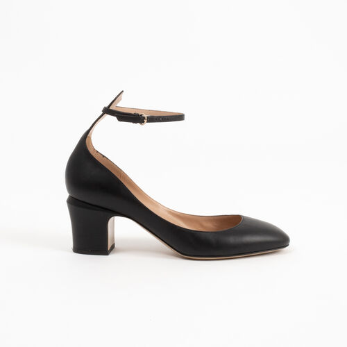 Valentino Mary Jane Pumps with Ankle Strap