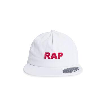 """Painter Hat """"Rap"""" - White"""