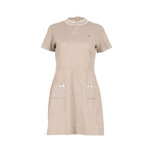 Vintage Bobbie Brooks Pinstripe Knit Dress