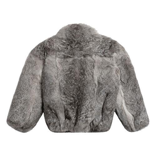Vintage Caravelle Fur Coat (Grey)