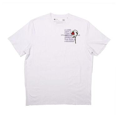 Tuff Bandit White Loss Ain't A Loss T-Shirt