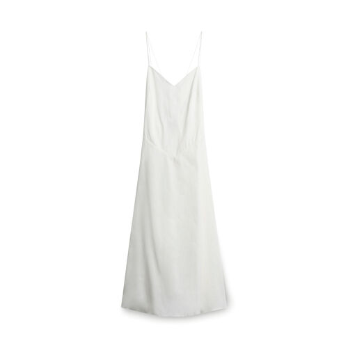 Anna October Mid-length Cotton Dress - Off-White