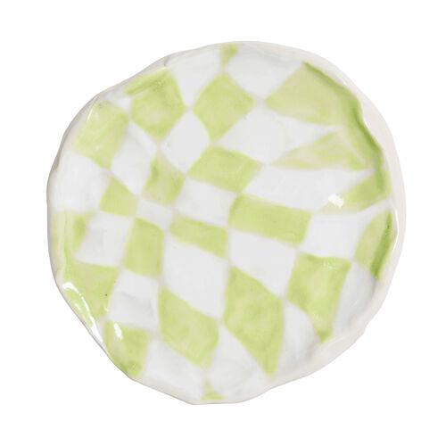 Psyche Checkerboard - Green