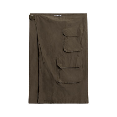Vintage Our Legacy Military Inspired Wrap Skirt - Olive