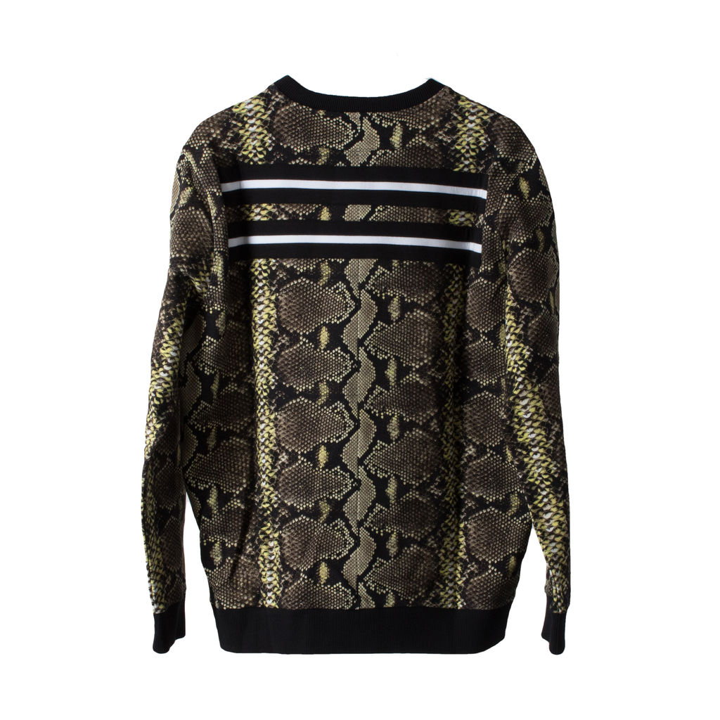Givenchy Snakeskin Print Sweatshirt