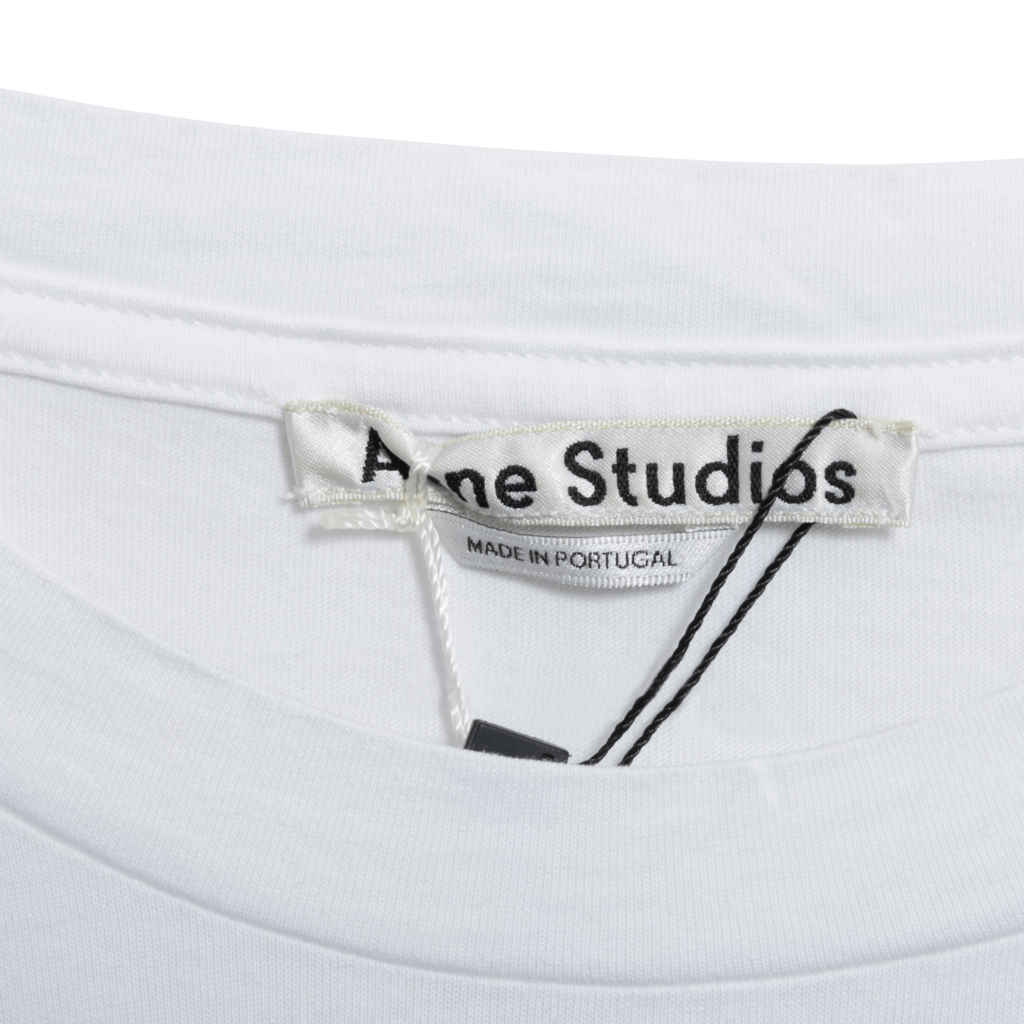Acne Studios White Graphic Tee