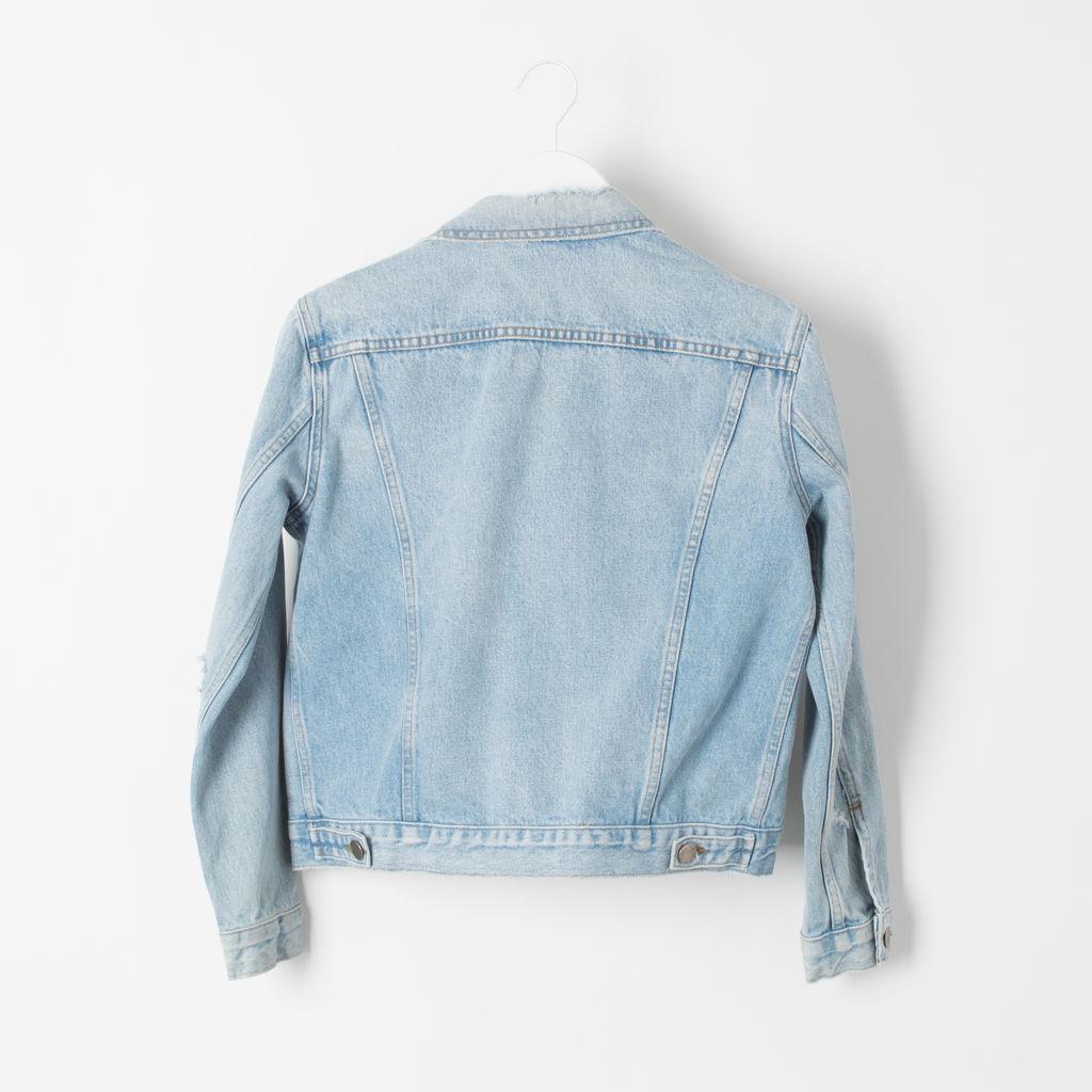 FRAME Denim Trucker Jacket curated by Sami Miro