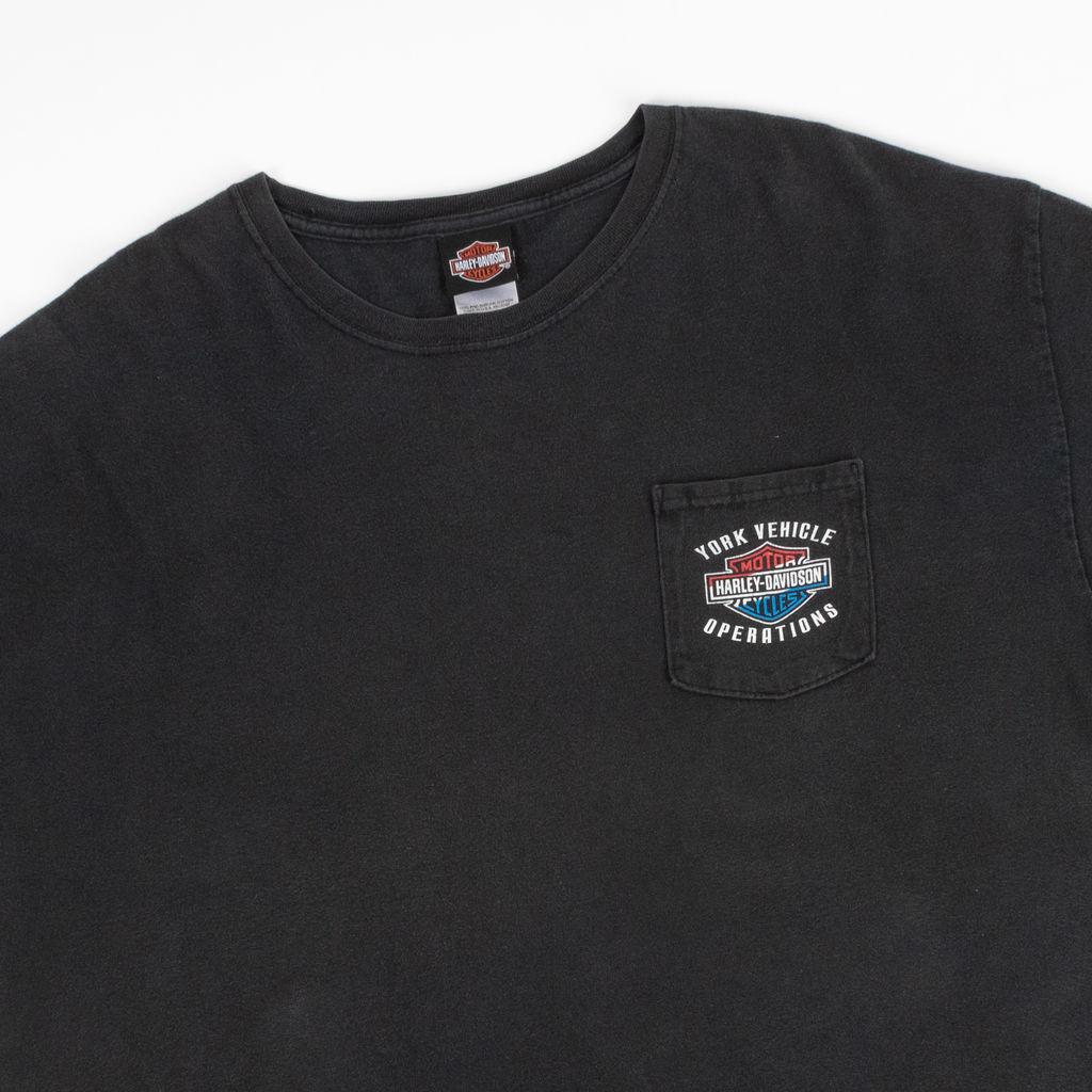 Vintage Harley Davidson York Vehicle Operations T-Shirt
