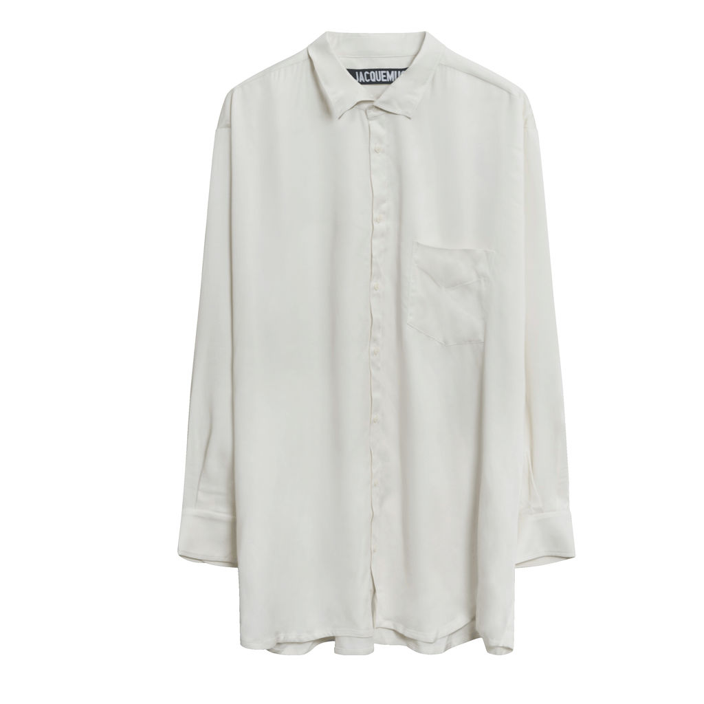 Jacquemus x SSENSE Exclusive 'La Chemise D'Homme' Shirt in Off-White