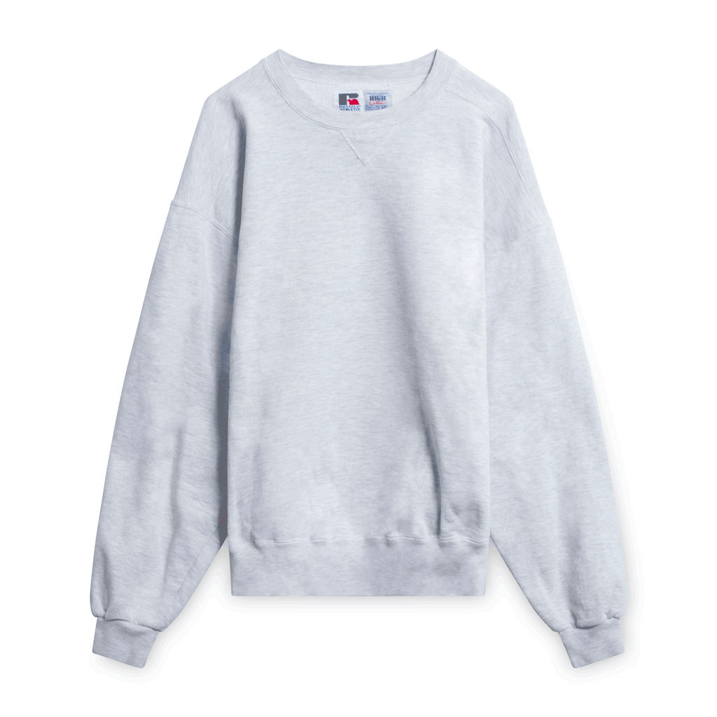 Vintage Russell Crewneck- Light Grey